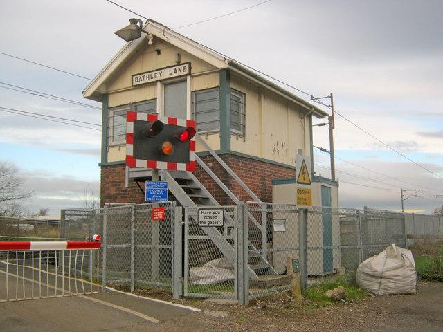 Bathley Lane signal box