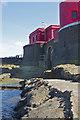 NU2438 : Longstone Lighthouse Landing by Peter Skynner