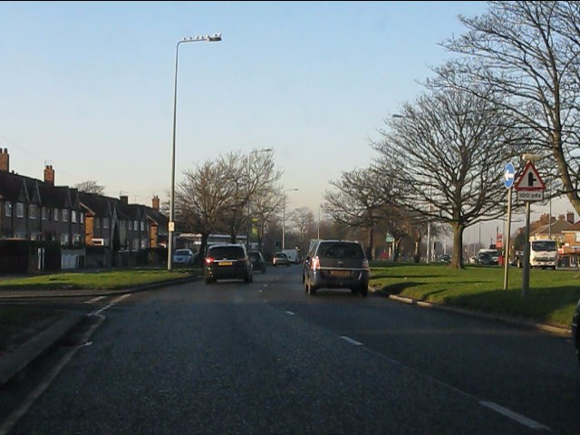 Queens Drive at Sandy Lane