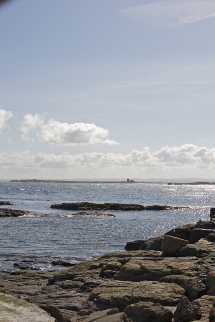 View from the Longstone Lighthouse towards Beacon on Brownsman