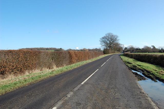Brook Street towards Bourne Farm