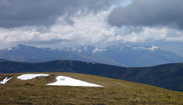Summit ridge of Creag Meagaidh