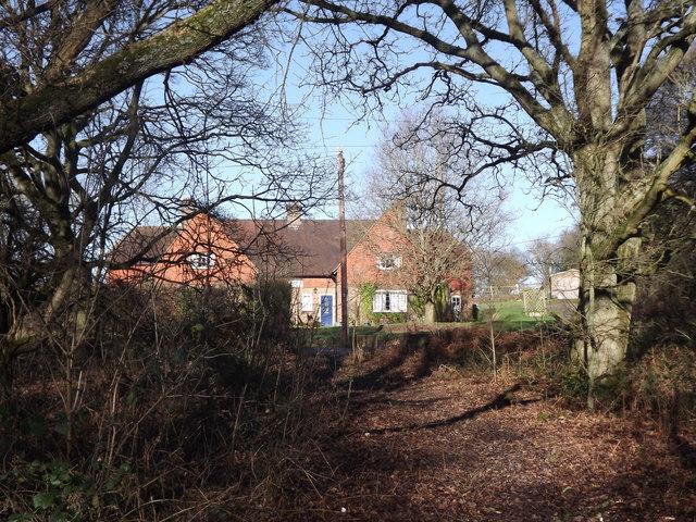 Footpath Near Pittance Farm