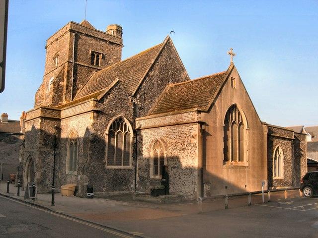 St Thomas a Becket church Lewes