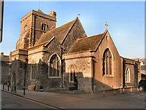 TQ4210 : St Thomas a Becket church Lewes by Paul Gillett