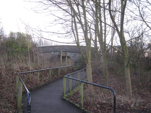 Macclesfield Canal Bridge No.25 from Holehouse Lane Carpark