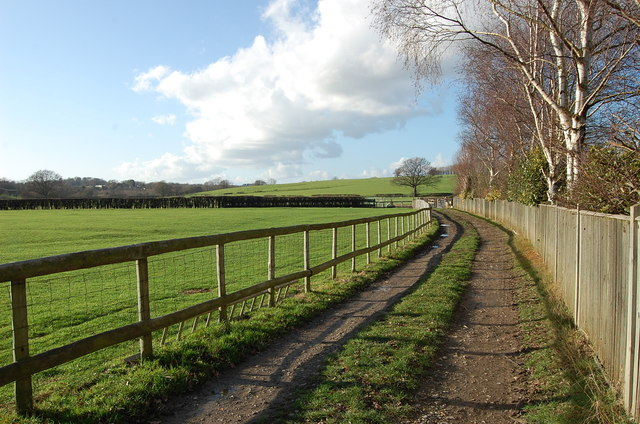 Track and Footpath off A28