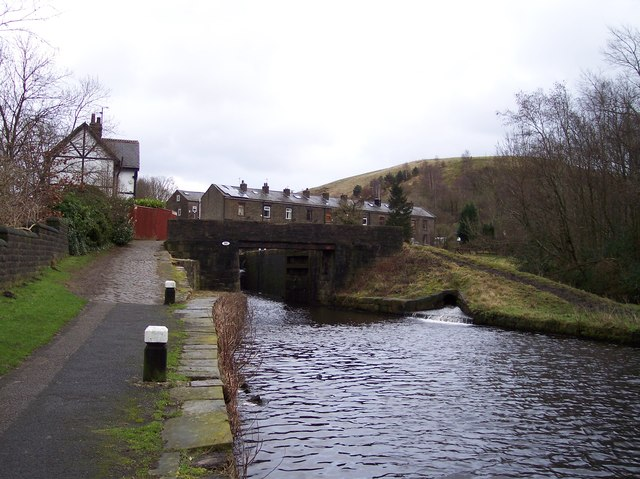 Bridge No 50 at Littleborough on the Rochdale Canal
