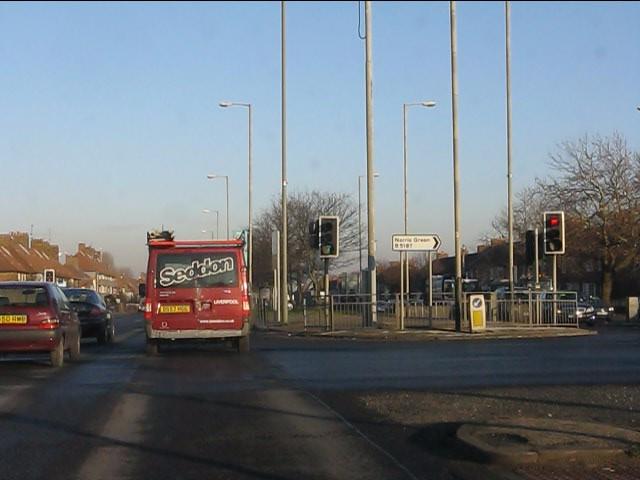 Strawberry Lane traffic lights