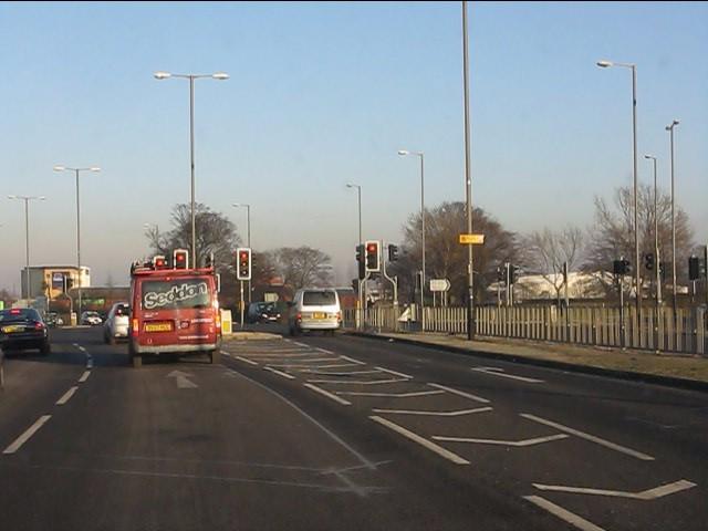 Lower Lane junction, A580