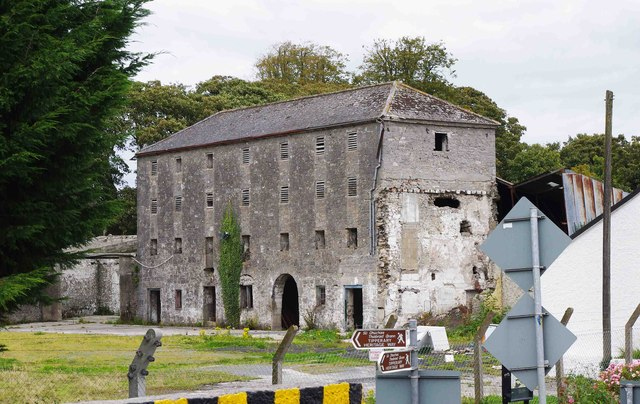 Remains of former flour mill, off Main Street, Golden, Co. Tipperary