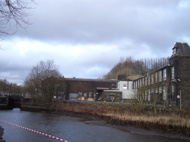 The Mill at Sladen Fold on the Rochdale Canal