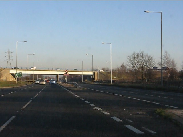 A rare gap on the East Lancashire Road