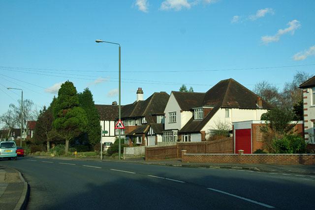 Houses on Chislehurst Road