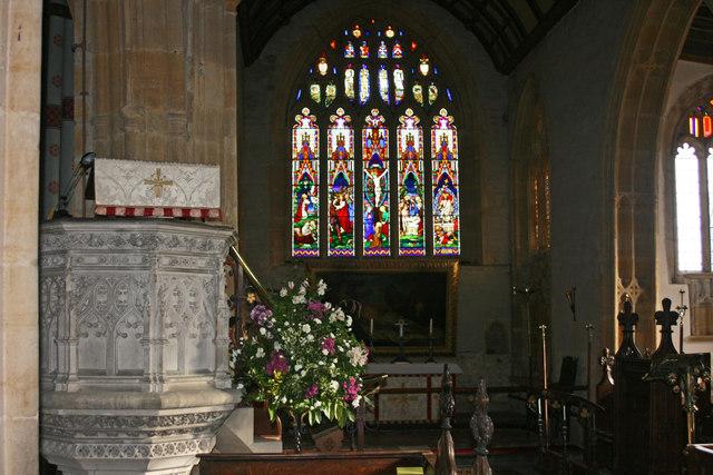Muchelney church interior