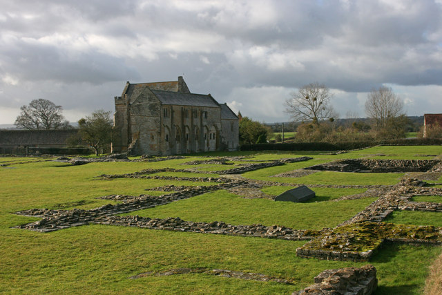 Muchelney Abbey ruins