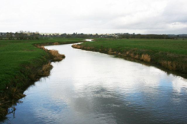 River Parrett from Westover Bridge