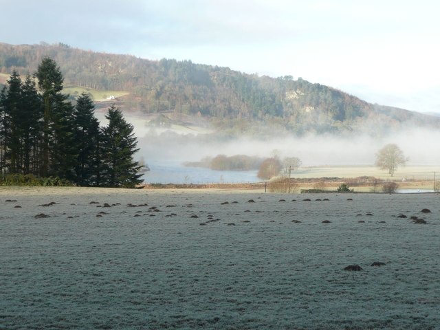 Mist over the River Tay