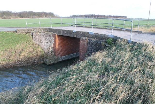 Blue Bridge over Fodder Dike