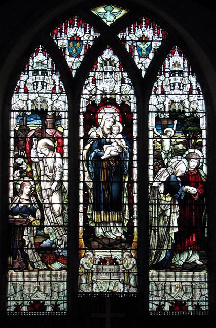 St Mary's church in Burstall