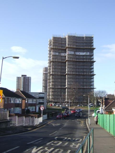Tower block refurbishment