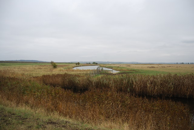 Drainage channel, Cooling Marshes