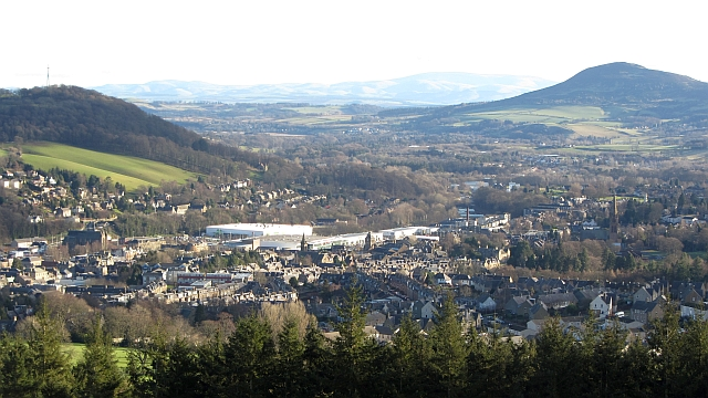 Gala from Meigle Hill
