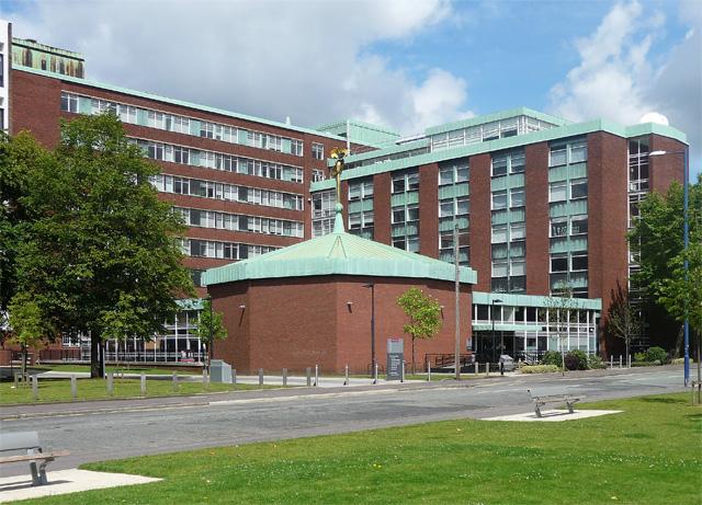 Schuster Building, Brunswick Street, Manchester