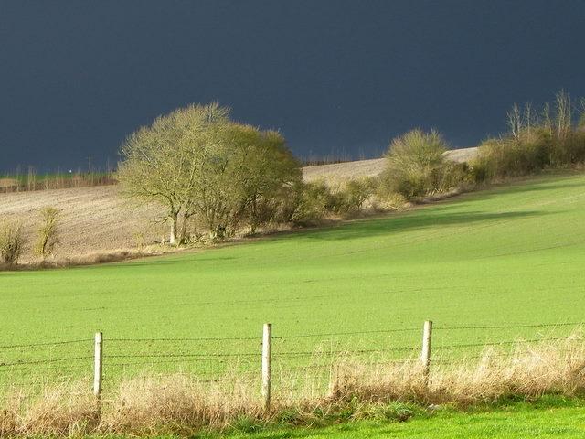 Storm clouds, Bishopstone