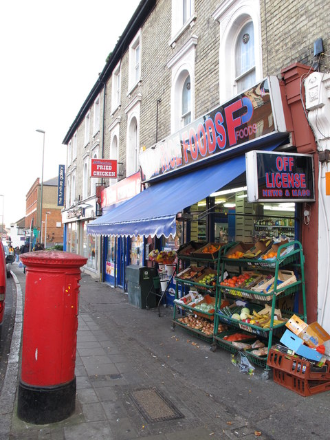 Shops in Church Road, NW4