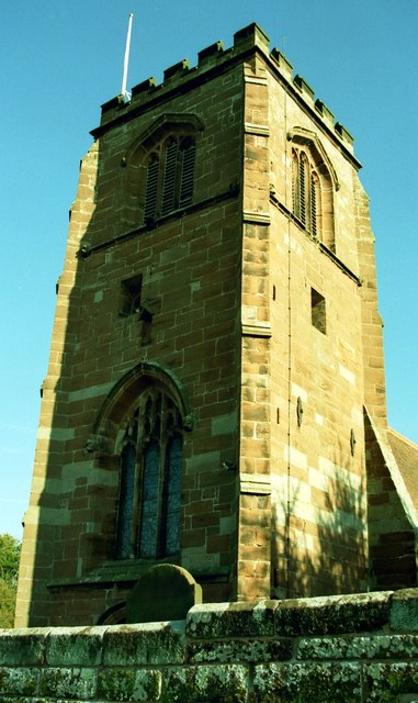 The Tower of St Mary's Church, Tilston