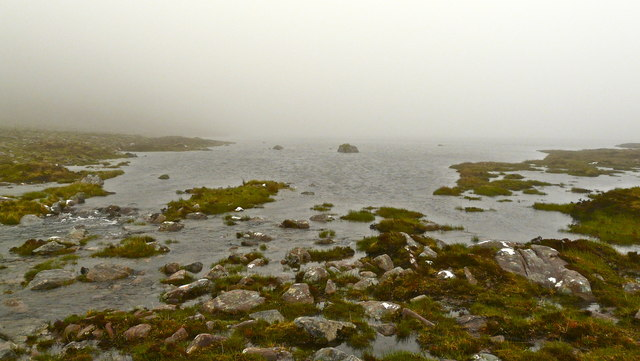 Lochan Bealach Cornaidh outflow