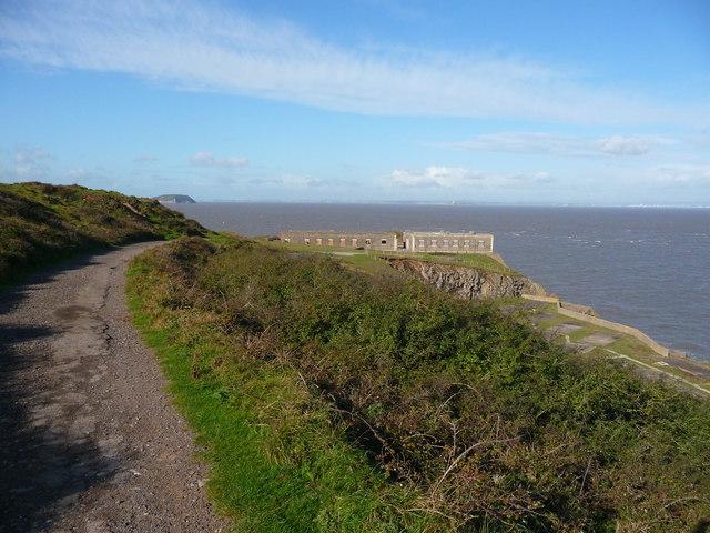 Brean Down - Track To Brean Down Fort