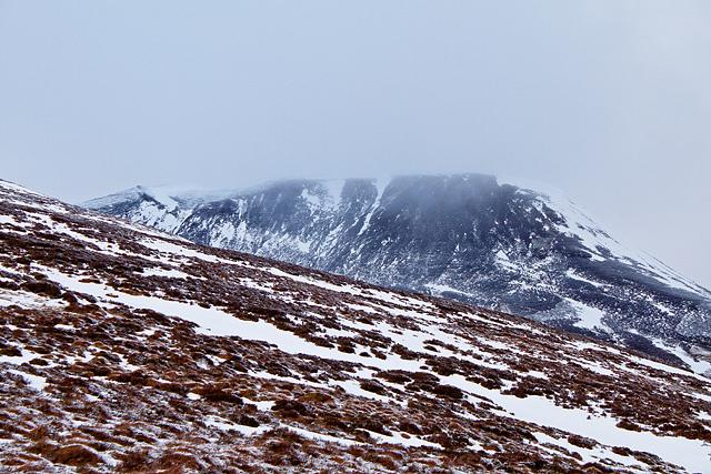 Eastern slopes of Sron nan Dias