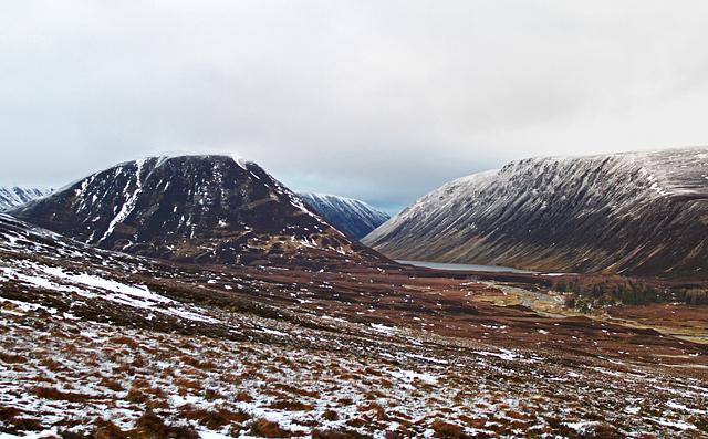 View towards Loch an Duin