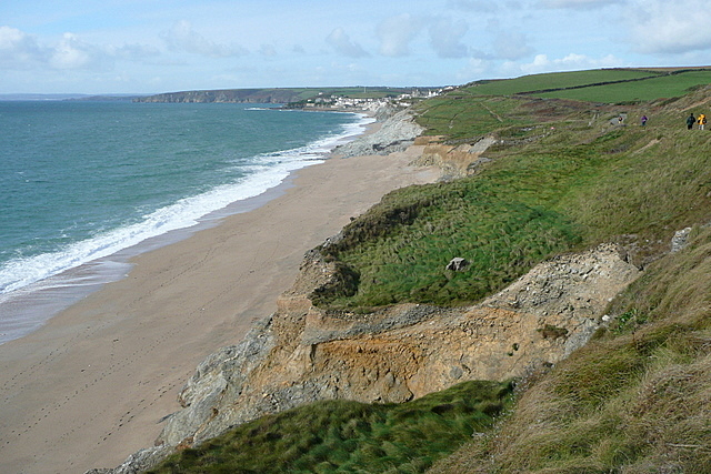 Towards Porthleven