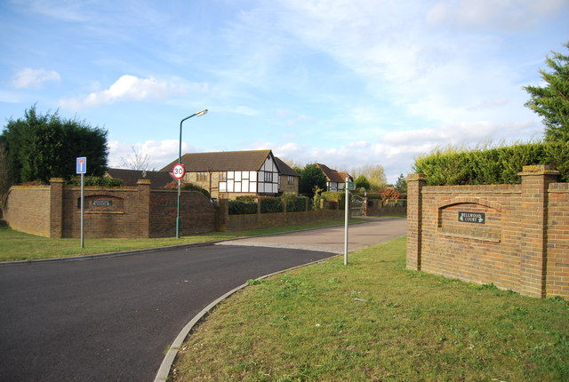 Entrance to Bellwood Court