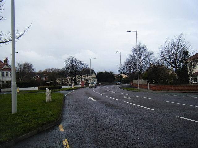 A553 Birkenhead Road