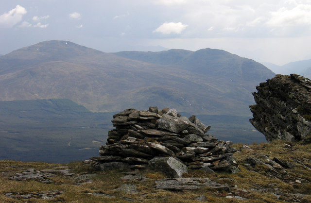 Summit of An Cearcallach