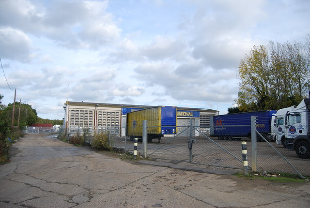 Parked trailers