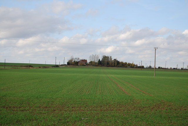 View to Newlands Farm