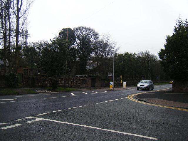 Column Road from Grammar School Lane