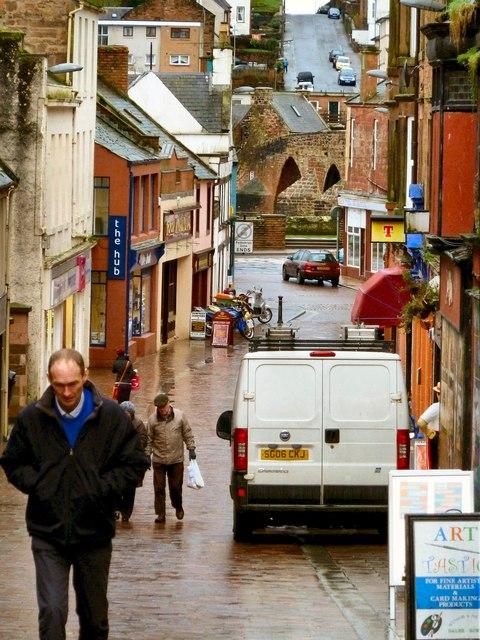 View from Irish Street