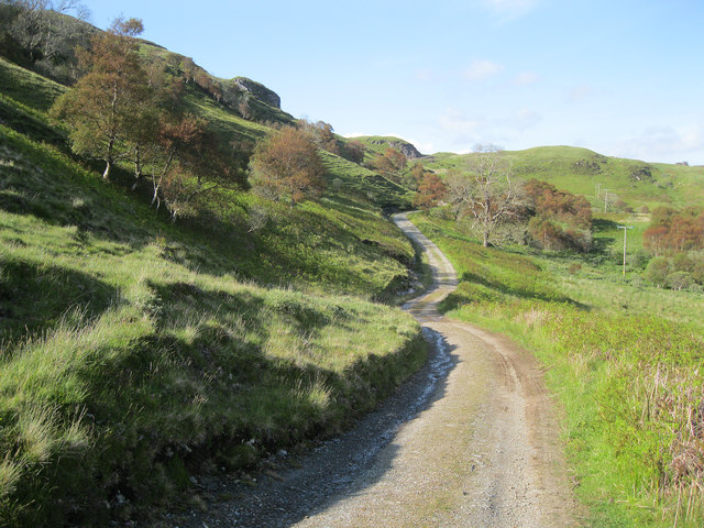 Track to Ardmaddy from Degnish