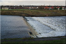 SD8100 : Weir on the River Irwell by Bill Boaden