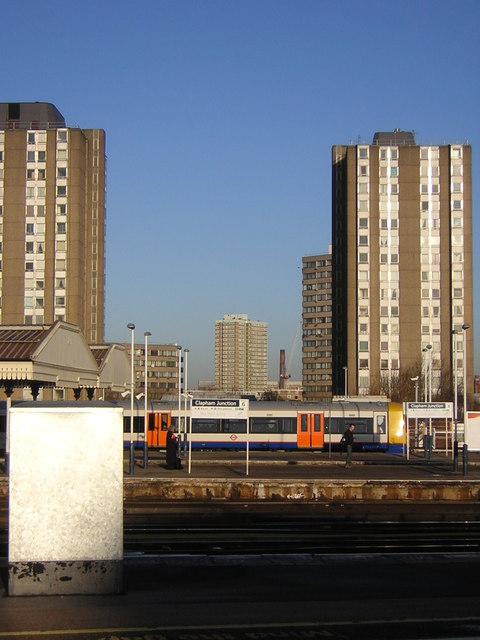 Clapham Junction: view northwards