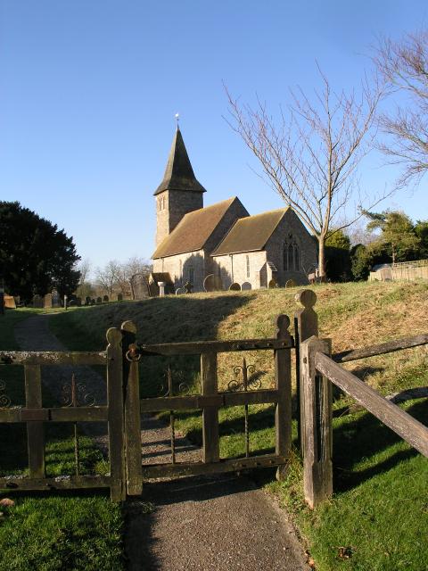 St Mary & St Radegund, Postling,