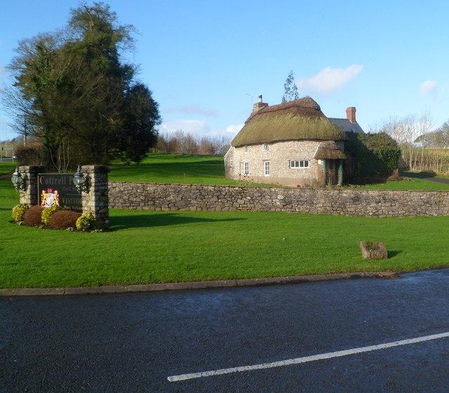 Cottrell Lodge west of St Nicholas