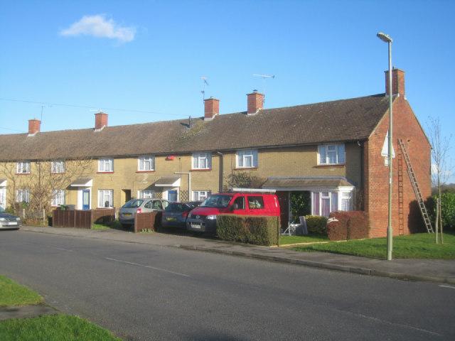 Houses along Sandys Road