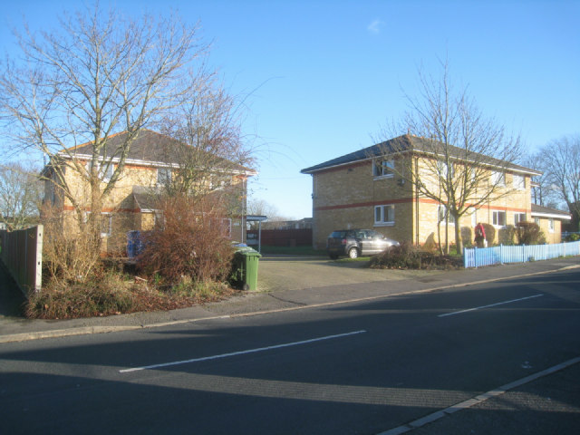 Buildings on Attwood Close